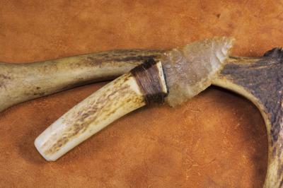 Couteau à lame en silex